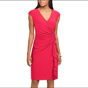Chaps Red Dress 0960